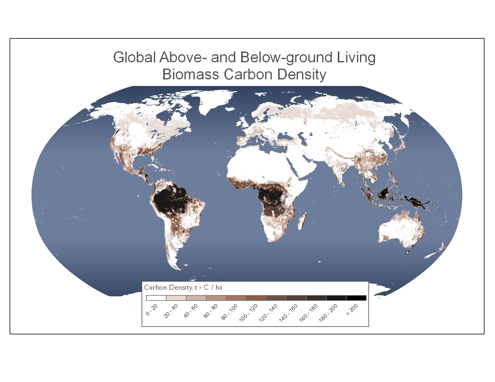 New ipcc tier 1 global biomass carbon map for the year 2000 gumiabroncs Choice Image