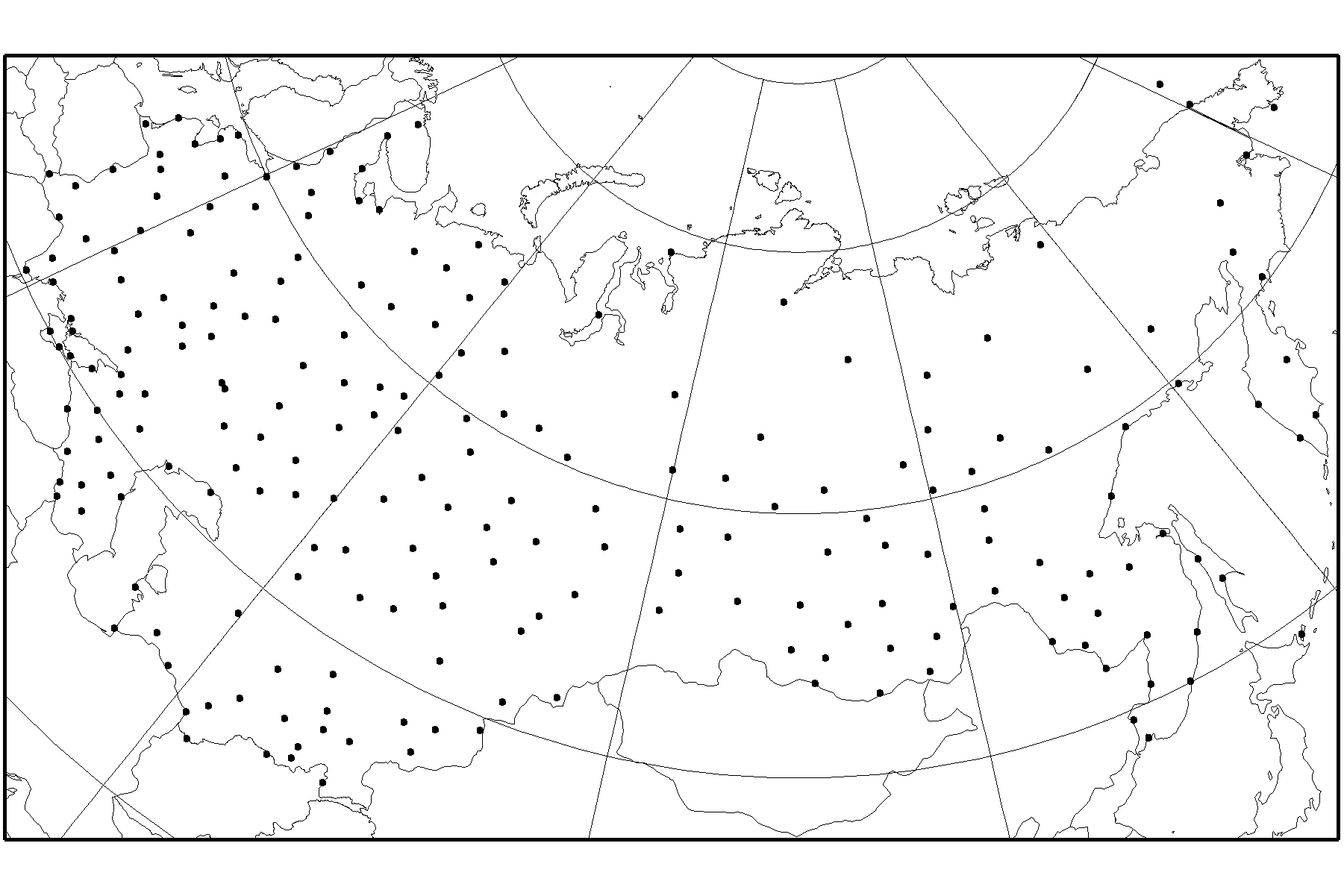 Daily Temperature and Precipitation Data from 223 Former-USSR Stations