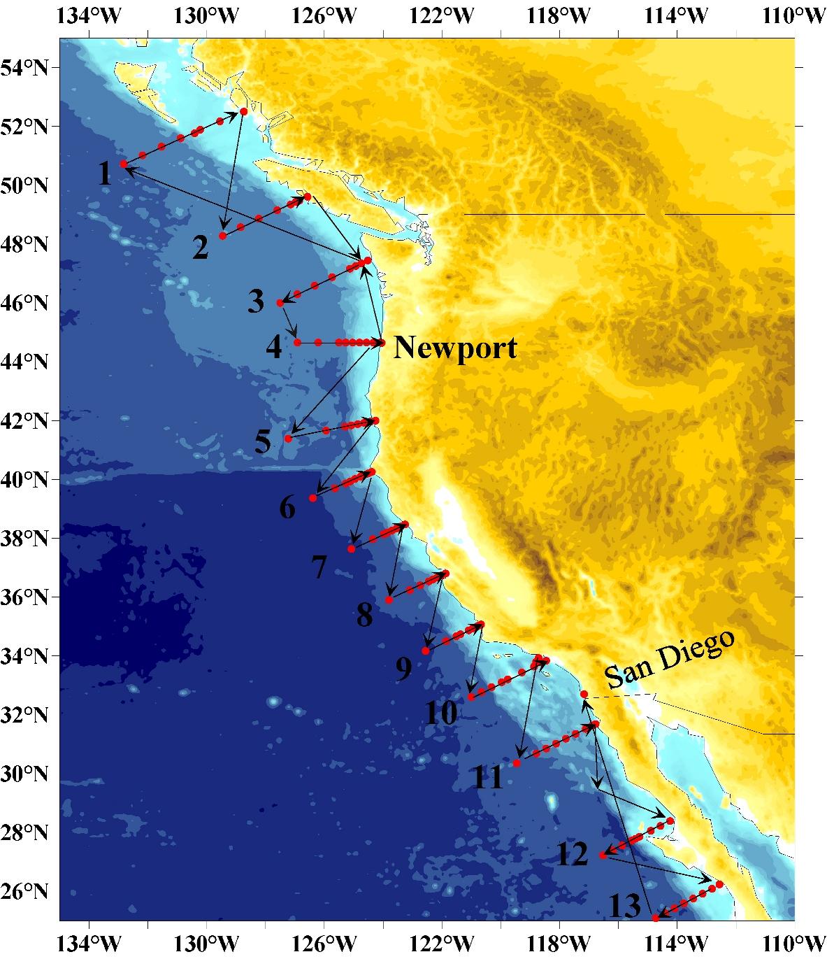 Index Of FtpoceansNACPWestCoastCruise - West coast cruises