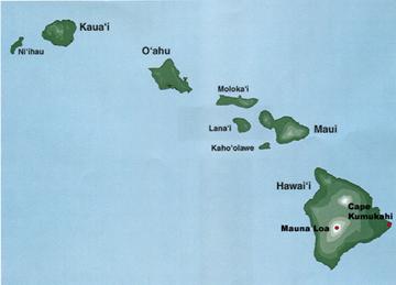 Mauna Loa - Wikipedia |Mauna Loa World Map